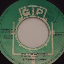 Vinyl Single cover - Z'Is 'T Er Vanonder